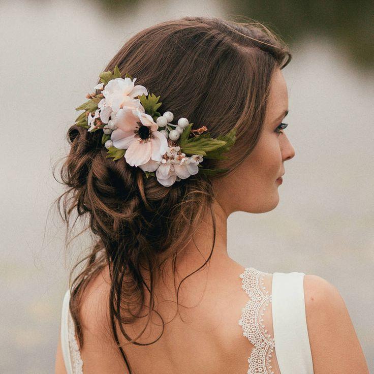 blomsterkrans til håret køb